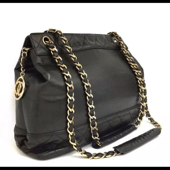 fa3e16b93f98 CHANEL Handbags - Chanel quilted matelasse chain tote bag